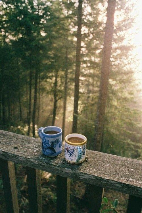 Café en silencio...
