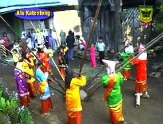 alu katentong, west sumatra, tradisi dan kesenian minang