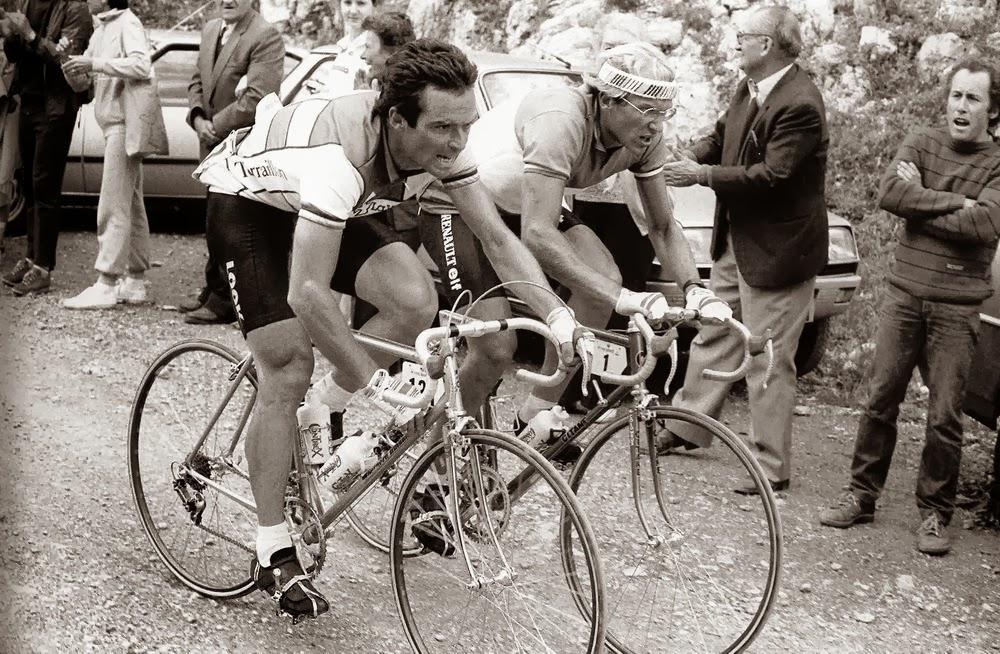Bernard Hinault  Y Laurent Fignon