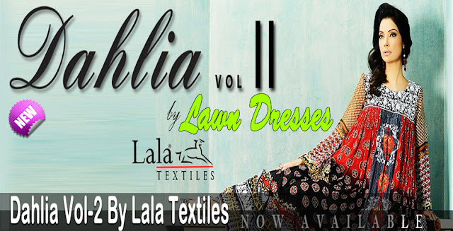 Formal Wear | Dahlia Lawn Vol-2 Collection 2013 By Lala Textiles
