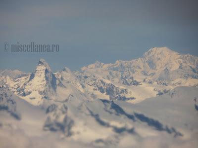 Matterhorn and Montblanc