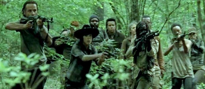 Tiros, sangue e zumbis: veja o trailer da quinta temporada de The Walking Dead