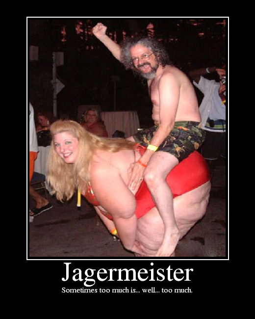jagermeister-sometimes-too-much-is-to-mu