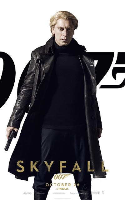 skyfall, 007, james bond, silva, Javier Bardem