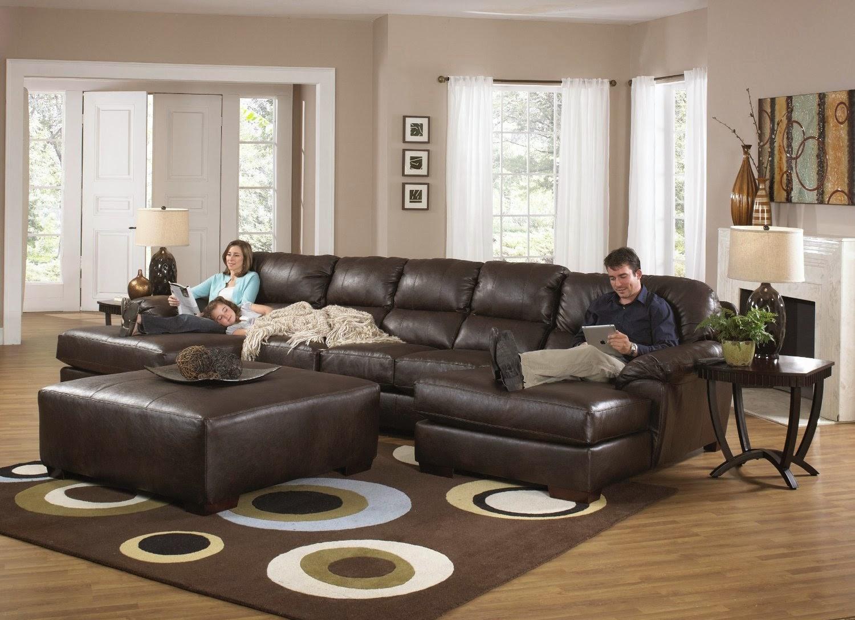 Sleeper Sofa Accomplished Leather Sectional