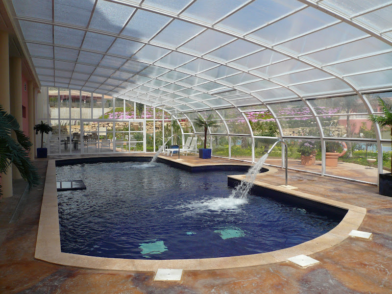 Cerramientos y cubiertas para piscinas 644 34 87 47 for Techos para albercas