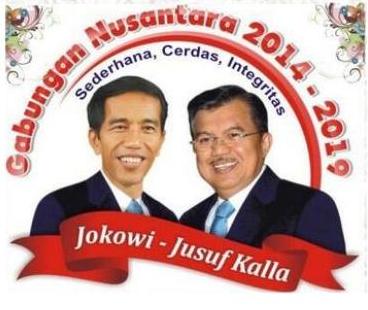 Jokowi - Jusuf Kalla (Presiden dan Wakil Presiden 2014)