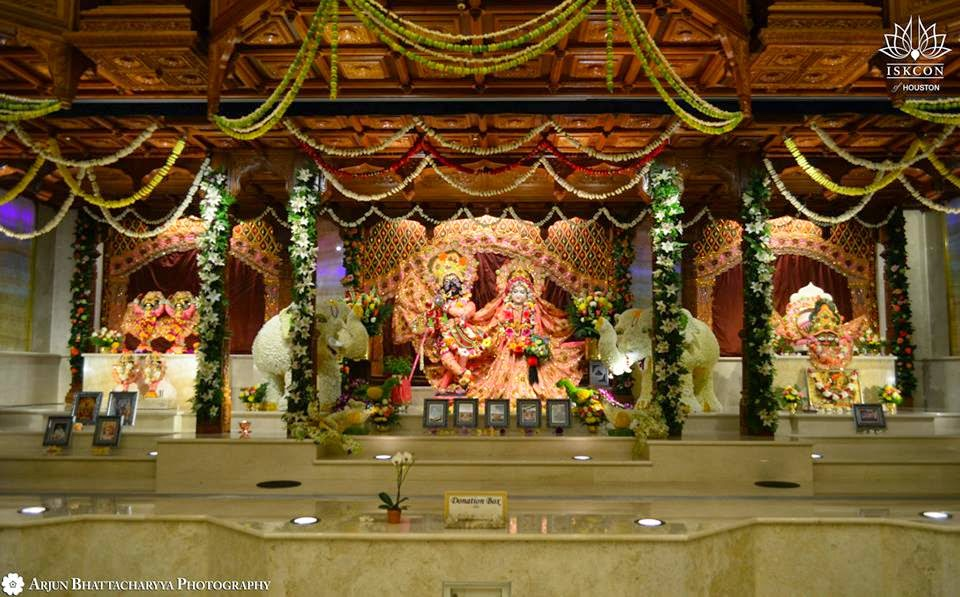Grand Opening of New Hare Krishna Temple in Houston Festival of
