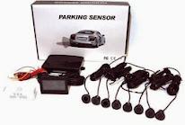 Sensor De Ré Estacionamento Dianteira E Traseira Tela Lcd 8 - R$ 210,00