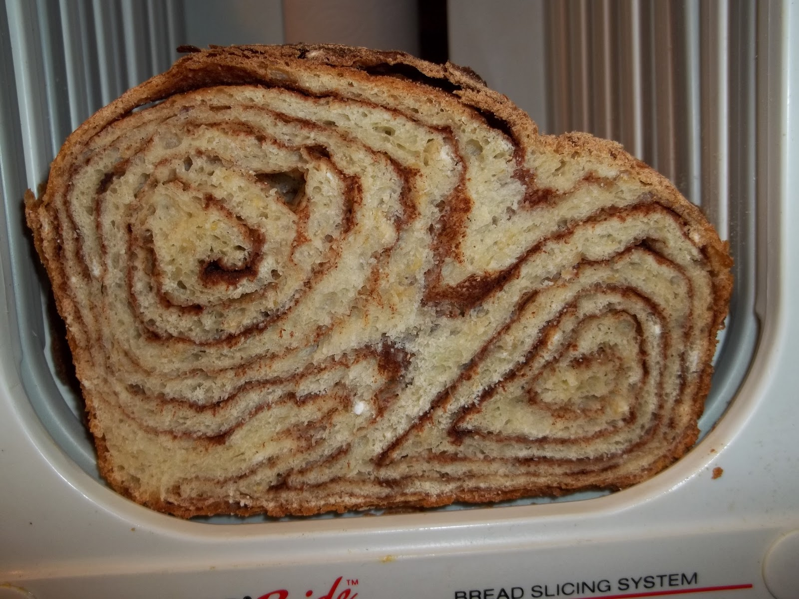 Cinnamon Swirl Bread - One Brown Mom