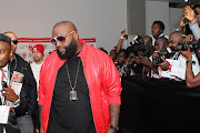 Rick Ross hit the stage last night in Lagos, Nigeria.