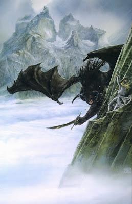 lucha gandalf contra balrog