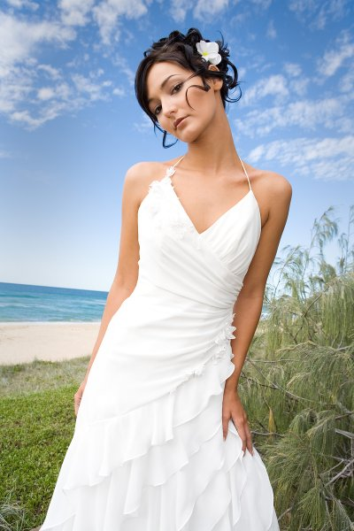All about the wedding celebration simple beach wedding for Simple casual wedding dresses