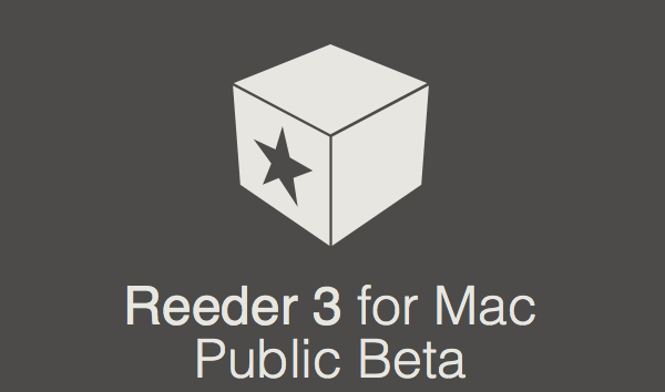 Reeder 3 for Mac