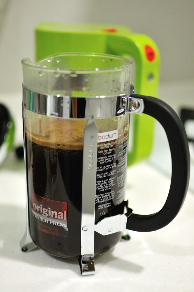 Starbucks Press Coffee Maker : Jeff s Blog: Bodum CHAMBORD French Press Coffee Maker with Starbucks Coffee