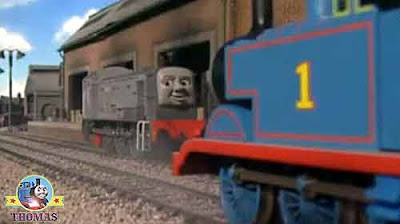 How to get to the Childrens School house Dennis the diesel train Thomas the tank engine did puffed