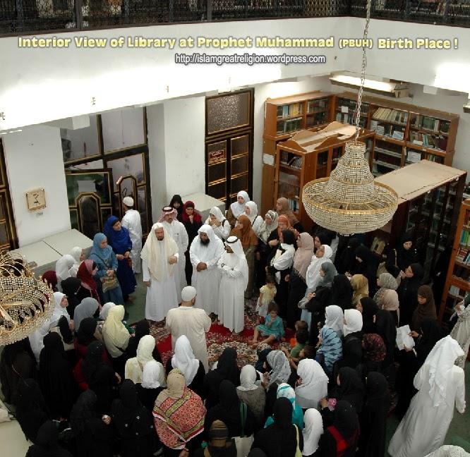 Tempat Kelahiran Rasulullah Jadi Perpustakaan