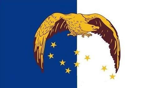 A bandeira dos Açores