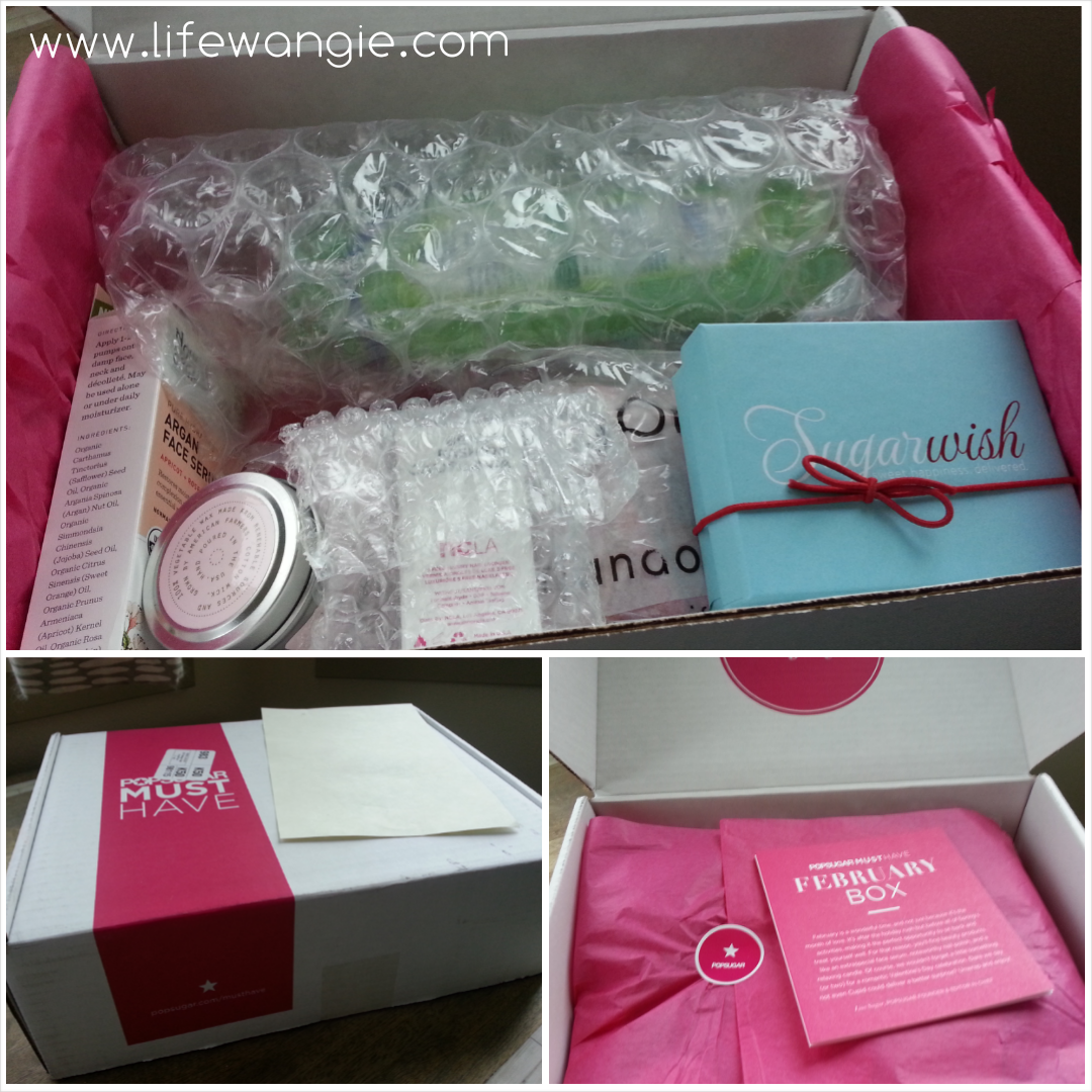 February 2014 PopSugar Must Have Review - Unboxing