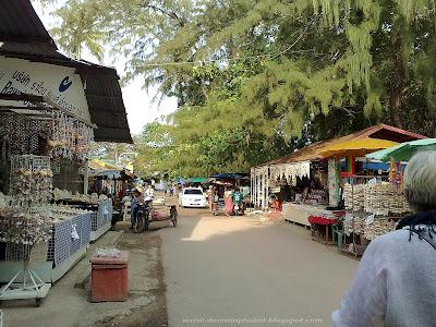 Shell Shops. Rawai Beach, Phuket, Thailand