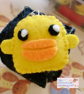 cute duck plushie