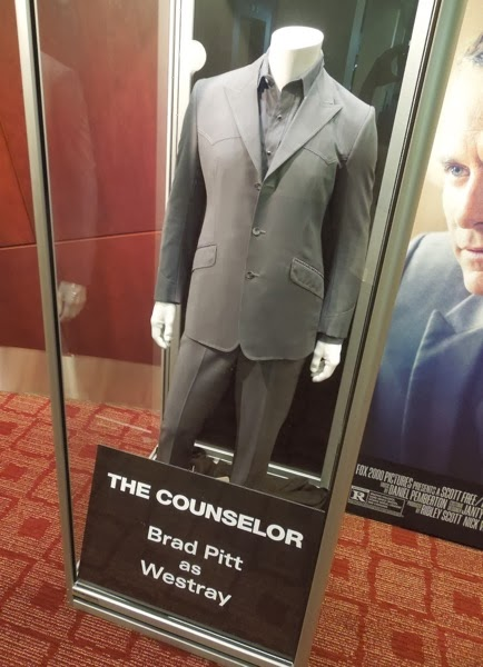Brad Pitt Counselor Westray movie costume