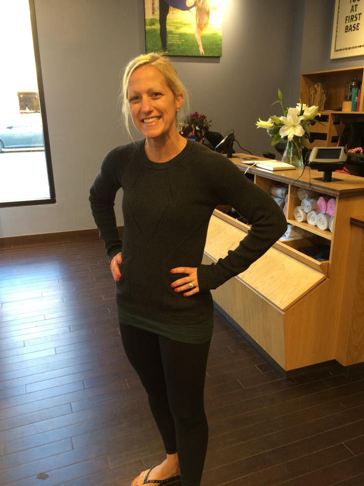 lululemon sweater the better black