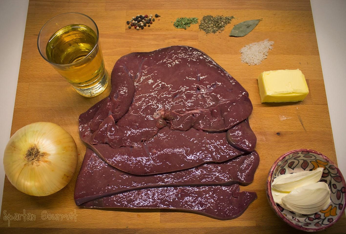Spartan gourmet pat de h gado de ternera 2 0 o casi for Cocinar higado de ternera
