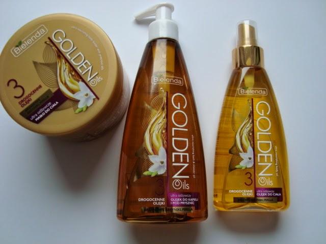 BIELENDA GOLDEN Oils - Złota seria z drogocennymi olejkami