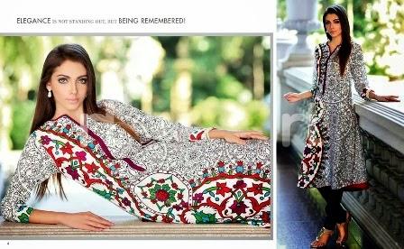 Elegance Lawn Dresses 2014-2015