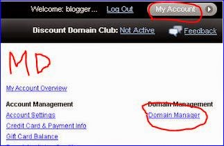cara setting domain di godaddy.com