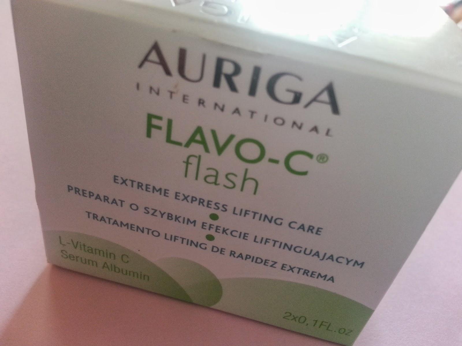 AURIGA FLAVO-C Flash - Serum błyskawicznie liftingujące