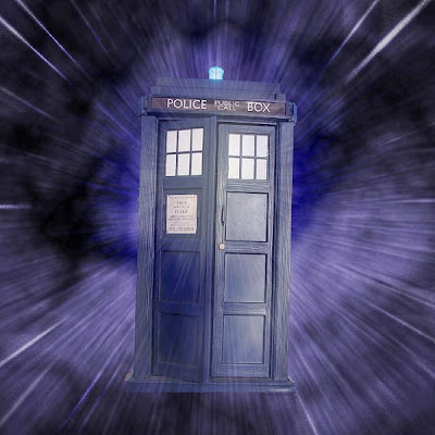 Tardis from Dr Who