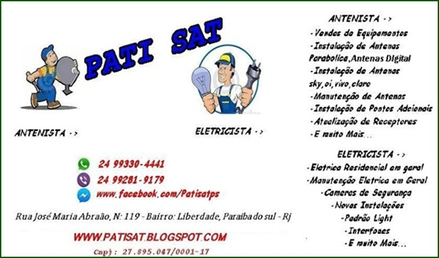 PATISAT ANTENAS