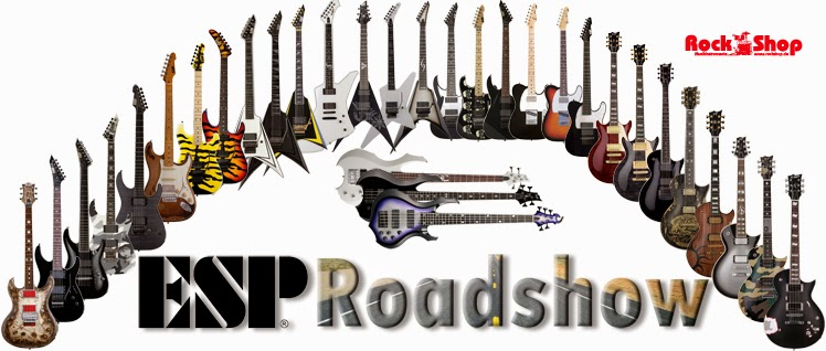 ESP, Roadshow, Signature Modelle, James Hetfield, Kirk Hammett, George Lynch, Richard Z.