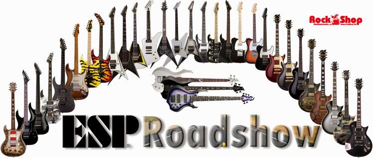 ESP, Roadshow, Signature Modelle, James Hetfield, Kirk Hammett, George Lynch, Richard Z.