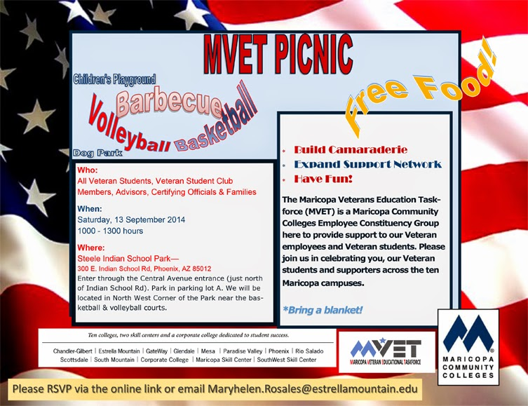 Inviation for MVET Picnic, details featured in text below
