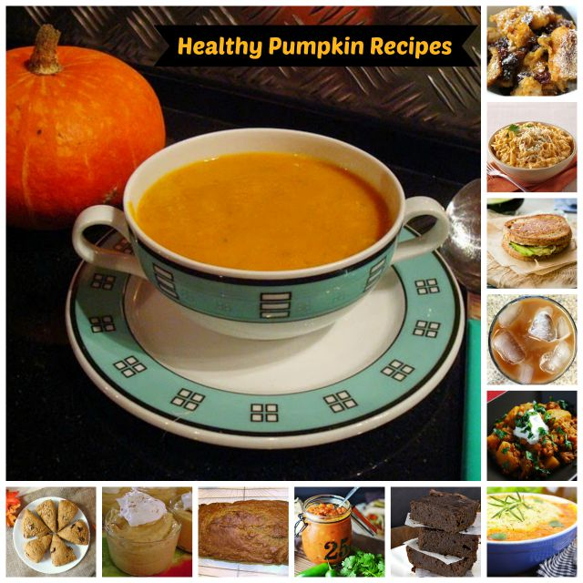 Healthy Low Calorie Pumpkin Recipes #healthypumpkinrecipes