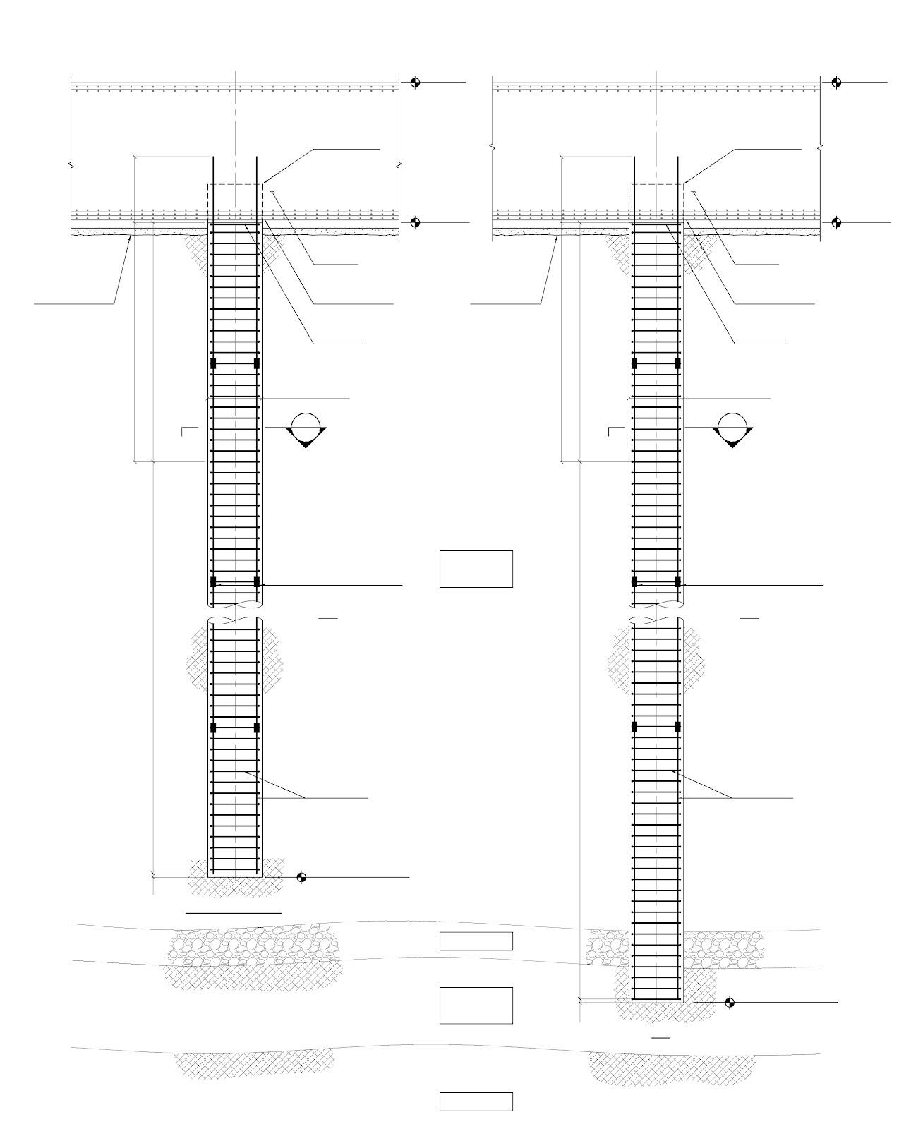 Modern cabinet kingdom tower plans test pile blueprints for Piling foundation house plans