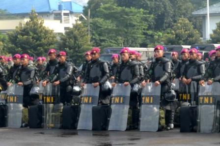 Amankan Pilkada, TNI Siapkan 400 Prajurit
