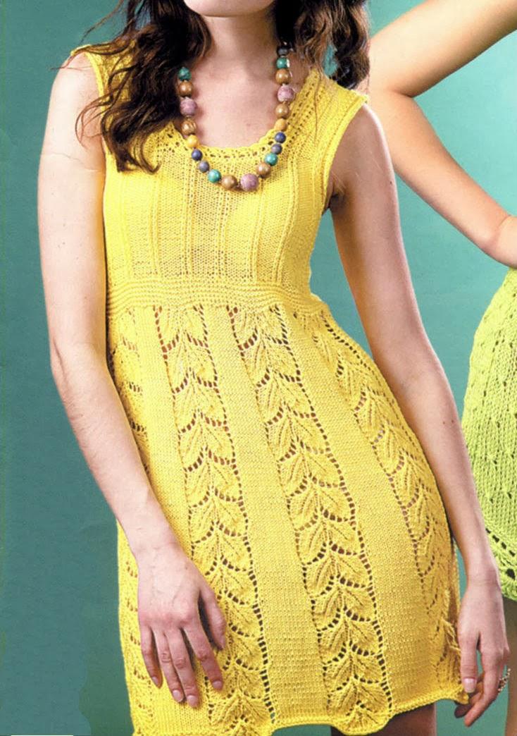 Я вязала на 92-98 размер (3 года). . платье для девочки детское платье спицами летнее платье спицами