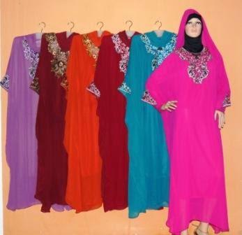 Gamis Kaftan Super Jumbo Gp072 Grosir Baju Muslim Murah