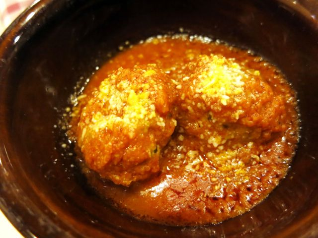 Trattoria da Danilo, Rome: Meatballs