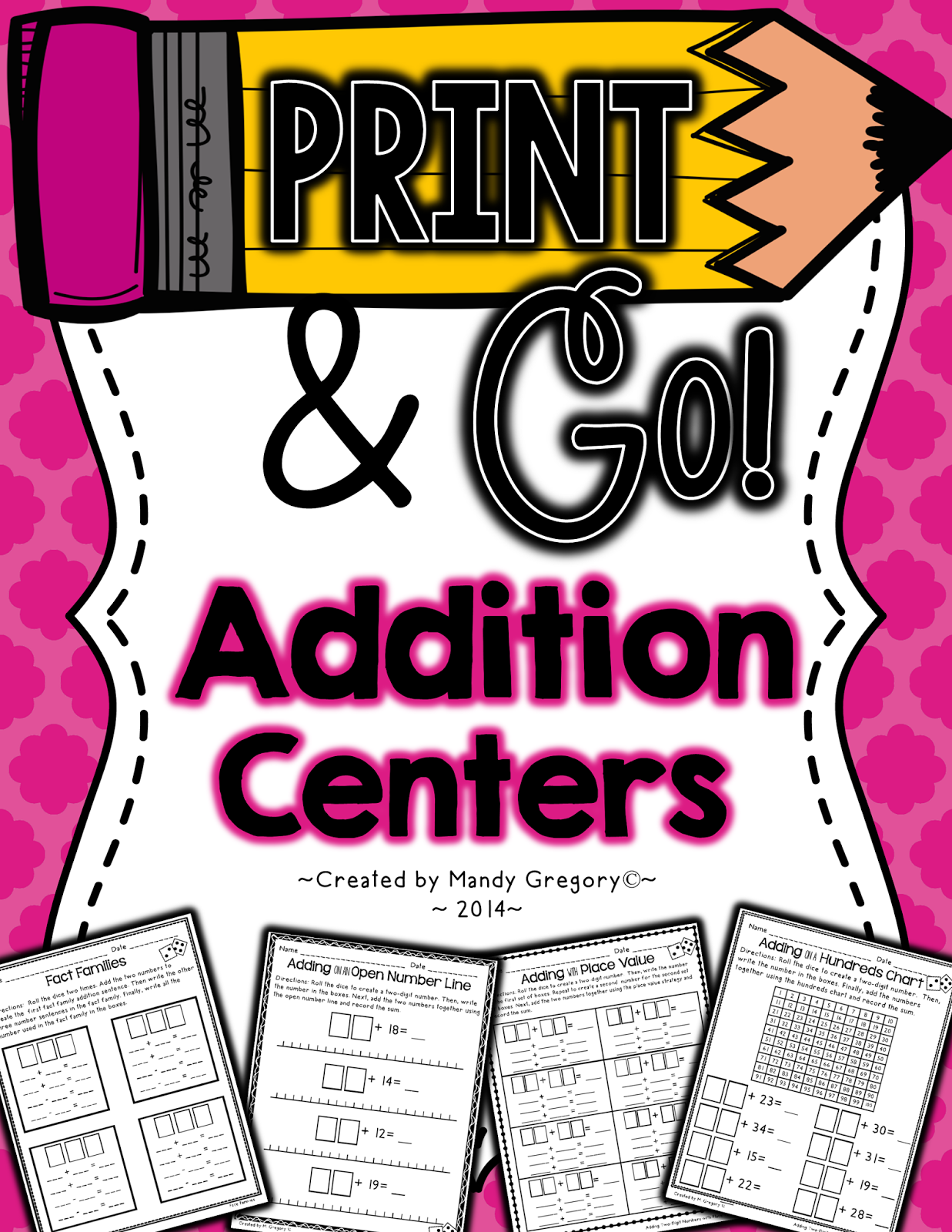 https://www.teacherspayteachers.com/Product/Addition-Centers-Print-and-Go-Series-1443148
