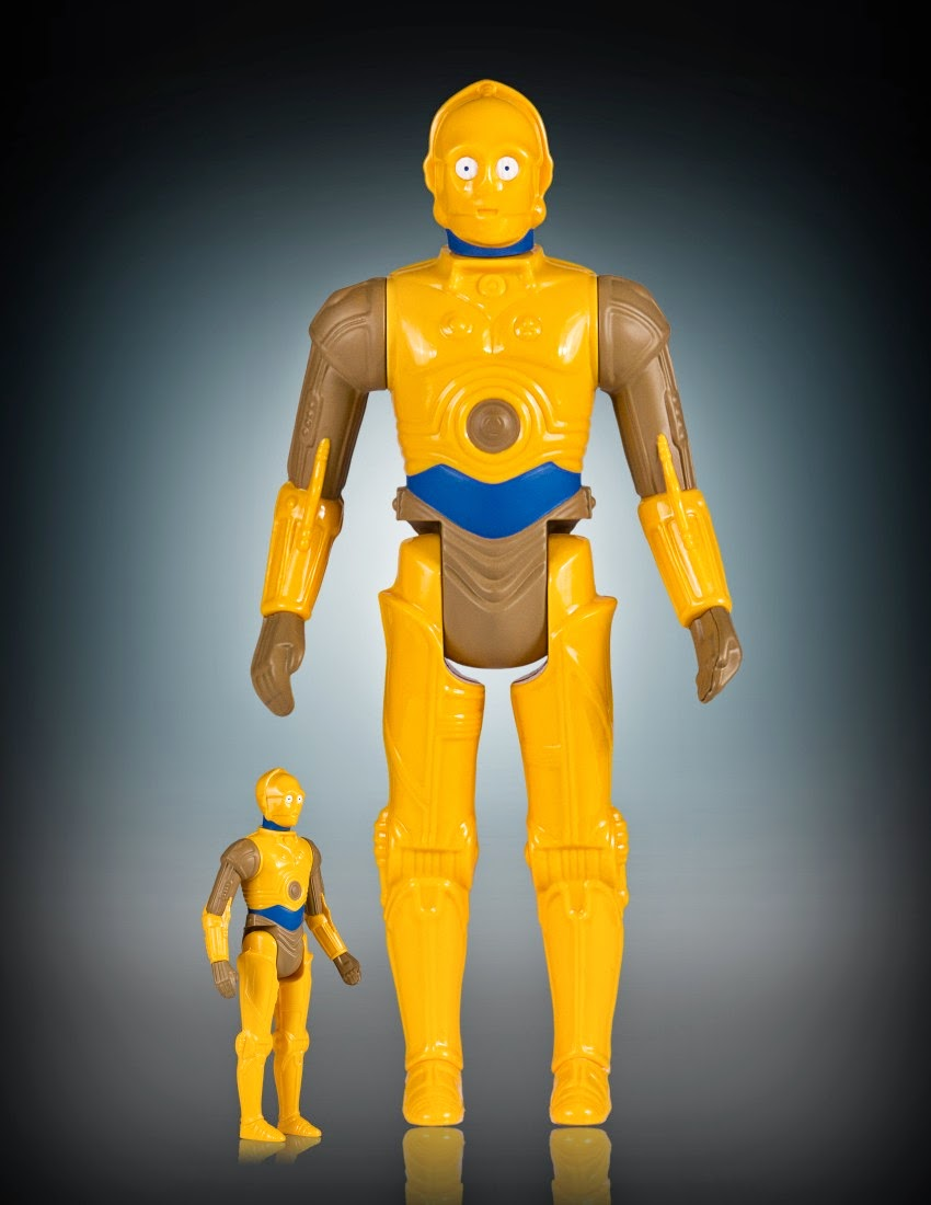 "Star Wars Celebration VII Exclusive ""Droids"" Animated C-3PO 12"" Jumbo Vintage Kenner Star Wars Action Figure by Gentle Giant"