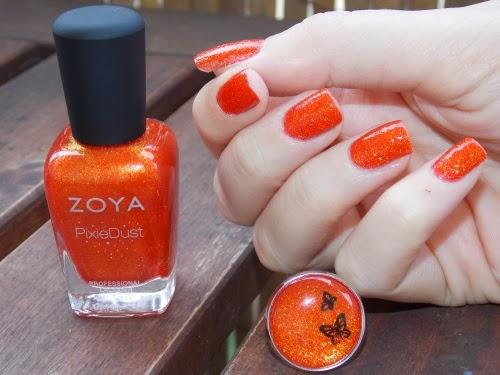 zoya dhara, zoya pixie dust dhara, pixie dust dhara, nail art facile blog