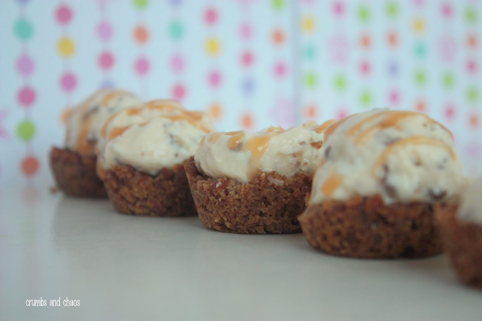 Sweet 'n Salty Caramel Mousse Cups - Crumbs and Chaos