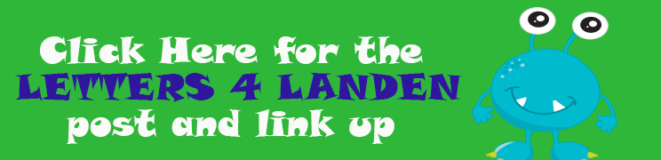 Letters for Landen Card Drive
