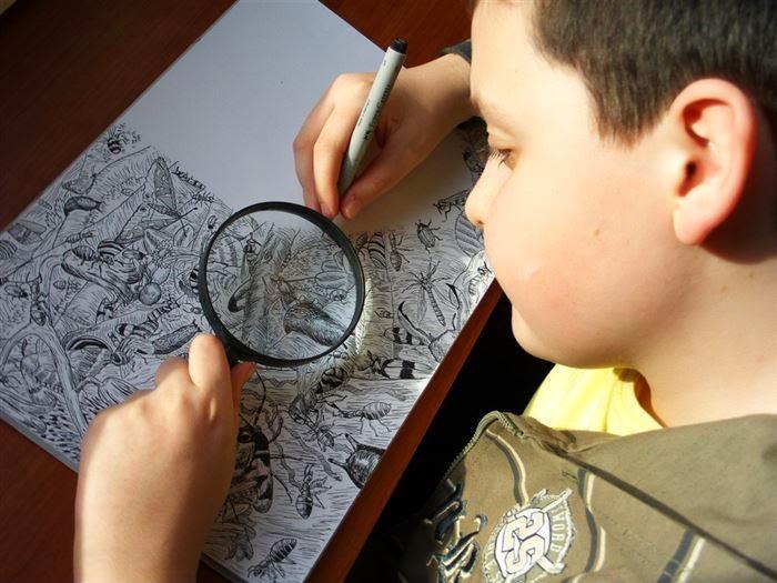 لن تصدق ان اللوحات المرسوم لطفل ذا عمر 11سنة 6abfc0b1-72cd-4e4e-8