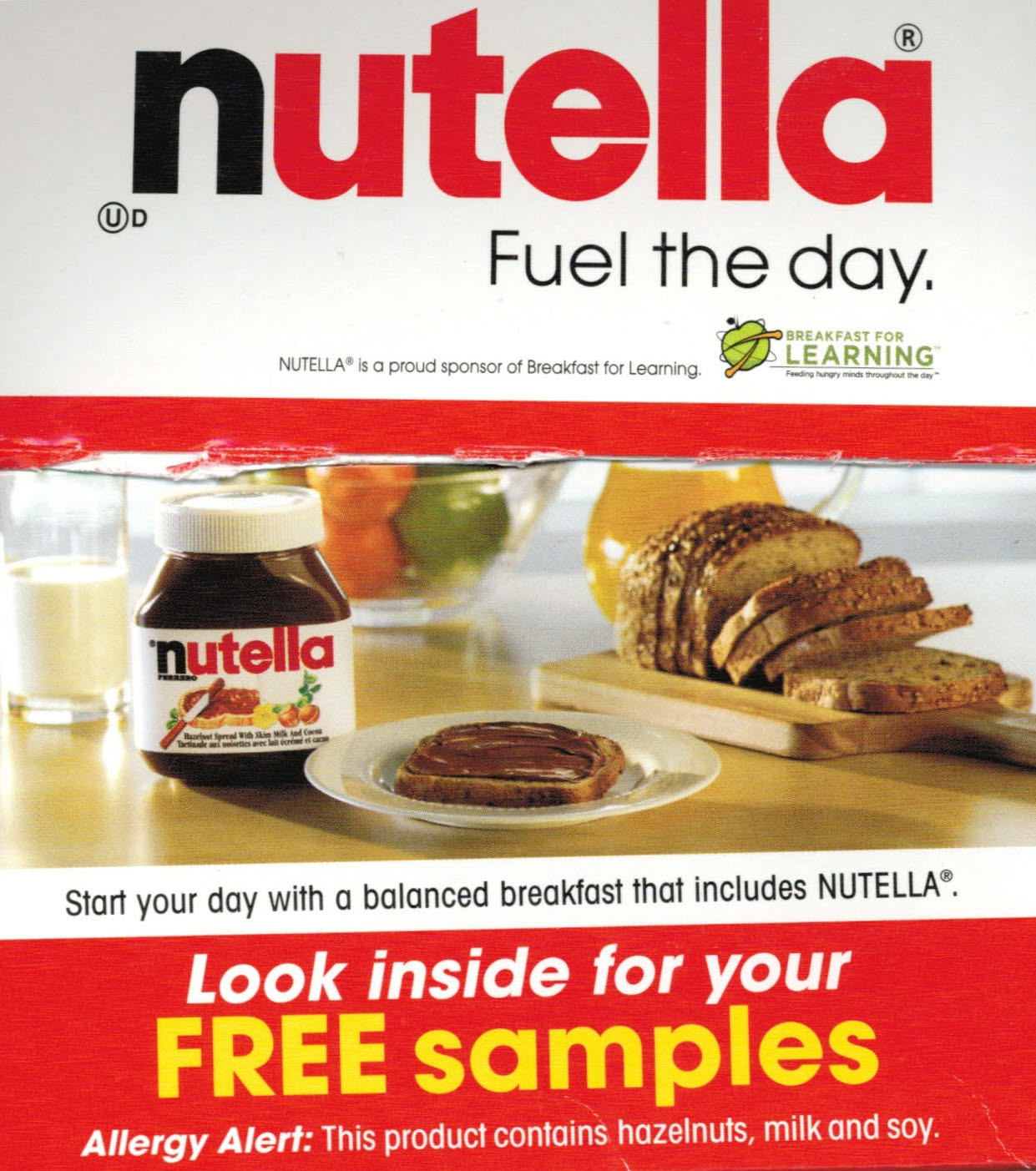 Weighty Matters Nutella Canada Yet To Get The Memo That Nutellas
